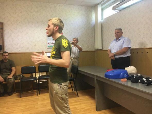 Дніпропетровський рибоохоронний патруль оновив знання з домедичної допомоги
