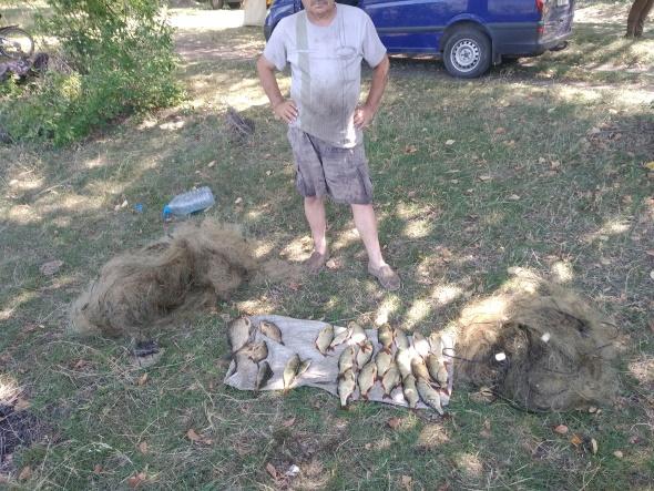 За місяць на Дніпропетровщині викрито 395 порушень,- Дніпропетровський рибоохоронний патруль