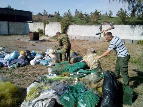 Дніпропетровський рибоохоронний патруль знищив майже 14 км сіток